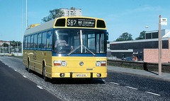 LN 23 Fairlands Way Stevenage 21 May 1977 (national_bus_510) Tags: