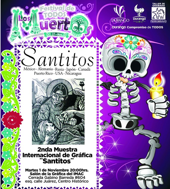 Santitos exhibition in Mexico