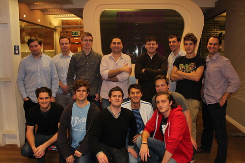 Team 1000heads: Movember Day One