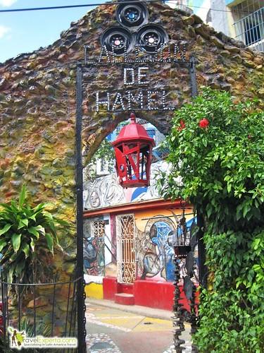 Entrance to Callejon de Hamel, Habana Cuba