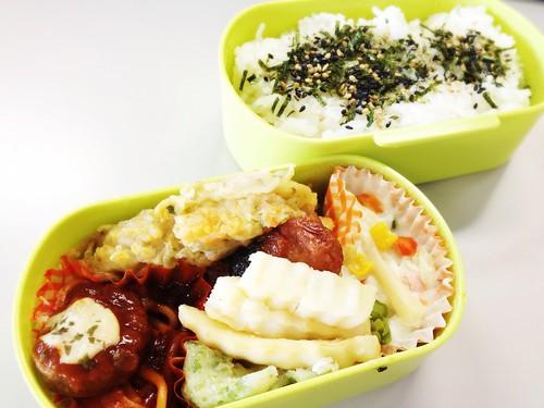 今日のお弁当 No.215 – 磯海苔