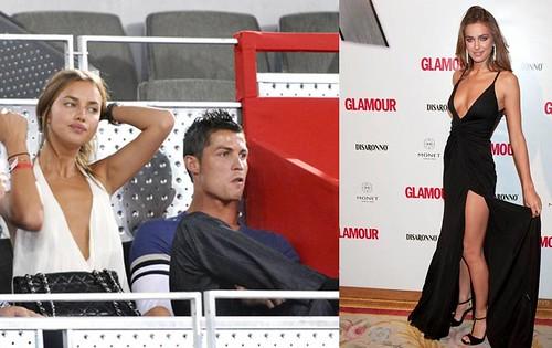 Cristiano Ronaldo Irina Shayk juntos