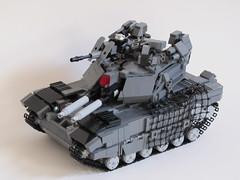Cerberus MK I MBT (Andreas) Tags: tank lego battletank legotank powerfunctions remotecontrolledlegotank