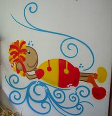Biblioteca Infantil (BENET - BNT) Tags: arte vinil benet bnt pinturainfantil rootsound rootssounds bntarte bntpintura