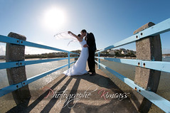 Envole-Moi (kimcass) Tags: wedding love couple pont mariage leconquet maris tole kimcass