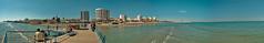Larnaca Panorama (BorisJ Photography) Tags: vacation panorama holiday beach catchycolors lumix october urlaub cyprus panasonic stitched cy larnaca hugin larnaka 2011 lx3 borisjusseit borisjphotography