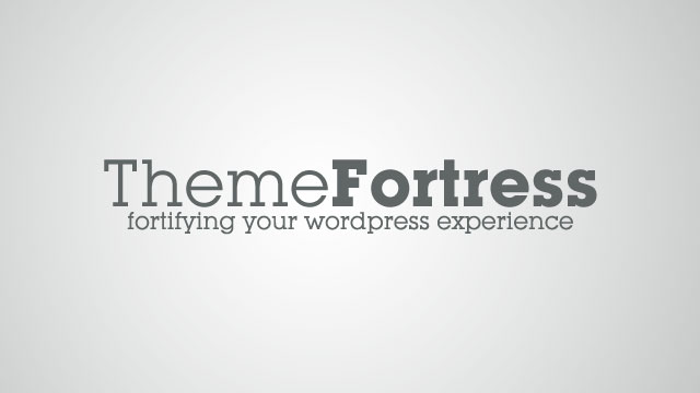 ThemeFortress: New WordPress Blog Launch