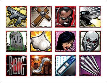 free Blade slot game symbols