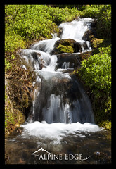 Little River (AlpineEdge) Tags: plants wet water creek river moss aqua h2o waterfalls marsh flowing splash greenplants velocity liquid freshwater cleanwater downstream movingwater