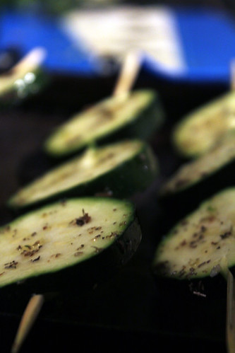 Baked Courgette