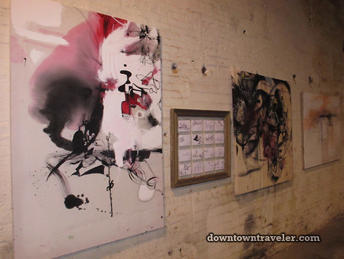 G Train Salon Motorcycle Shop Show in Brooklyn_artist Justin Steimer 2