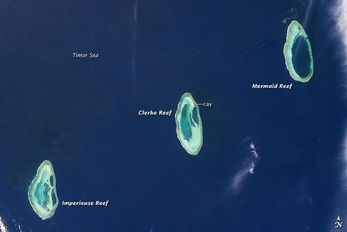 coral nasa reef iss atoll
