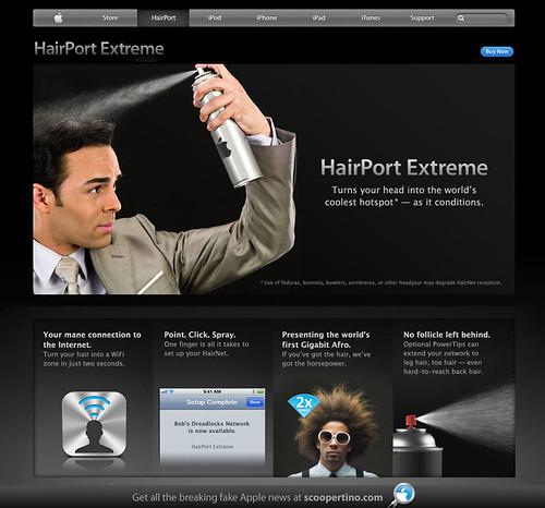 Apple's Hairport Extreme Hotspot