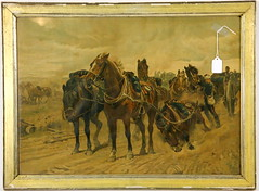 132. Crimean War Chromolithograph, English