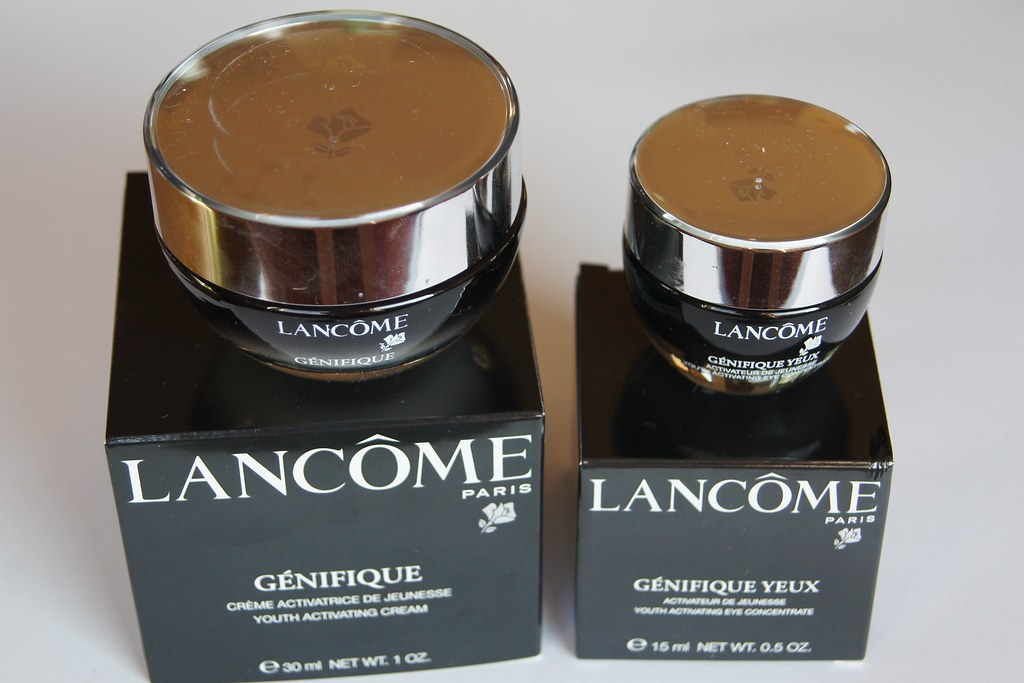 Lancome Genifique Youth Activating Cream and Eye Cream