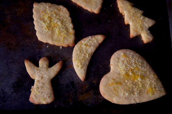 Cardamom and Orange Cut Out Cookies