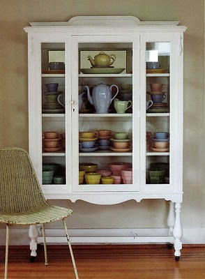 China cabinet bisouschic