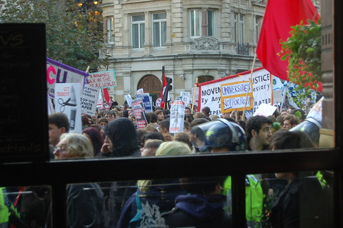 student protest Nov 11 8