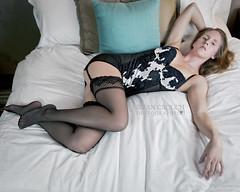 JH Getting Comfortable (10 x 8) (shallowend) Tags: portrait sexy stockings garter oregon portland virginia bed lingerie 8x10 lynchburg boudoir seductive nylons lastolite speedlite 2011 rightsmanaged thenines d700 sb900 ezybox briancrouchphotography