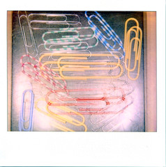Colorful Paperclips Multiple Exposure; Photographed on Original Polaroid Image Softtone Film - Expired (hogophotoNY) Tags: november blue red color macro film colors yellow silver polaroid office colorful doubleexposure clips scan multipleexposure scanned instant polaroidspectra spectra expired instantcamera paperclips macrophoto expiredfilm macrophotography officesupply 2011 instantfilm manycolors imagefilm softtone verycolorful spectrafilm expiredpolaroidfilm hogo macro5 expiredspectrafilm hogophoto spectracamera november2011 polaroidmacro polaroidinstantfilm expiredinstantfilm polaroidmacro5 softtonefilm tipfilm spectrapolaroidfilm expiredinstant macro5camera polaroidmacro5camera softtoneexpired