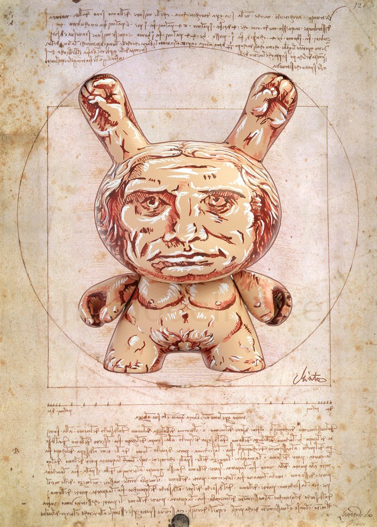 vitruvian dunny poster
