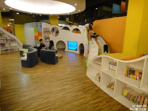 很大的兒童遊戲室