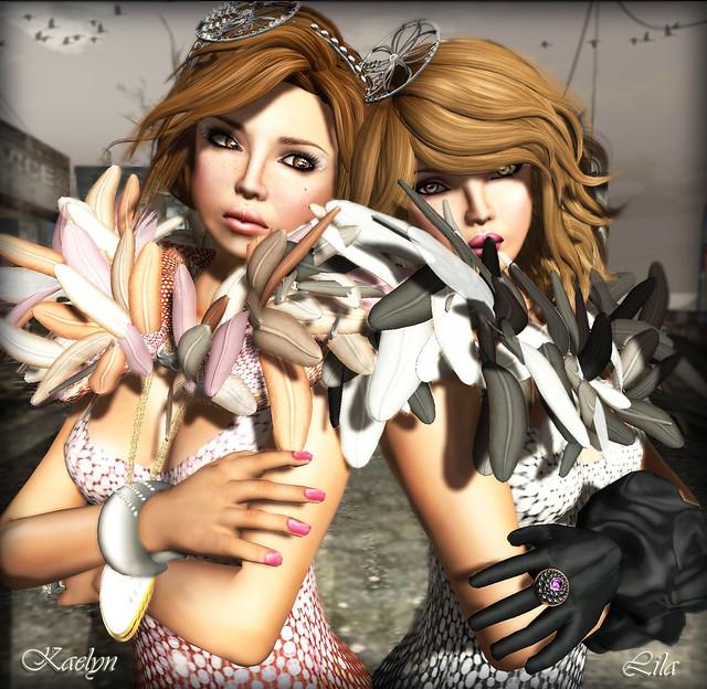 Kaelyn & Lila in Mimiri Cosmic Diva & Cosmic Vamp - 3