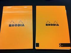 Classic vs. R by Rhodia Premium