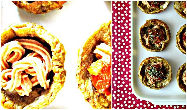 Miniquiches senza Crosta con Antipasto Langarolo (de)strutturato (3)