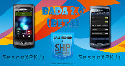 [Прошивка] Bada 2.0 beta XPKJ1 [SHP+CALLRECORD ACTIVATED!] для Samsung S8500 Wave