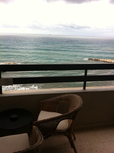 View from my room at the Londa in Limassol (Cyprus)