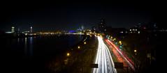 Cologne is beautiful... (h4rtogr4phy) Tags: street bridge water lights wasser traffic cathedral dom cologne kln brcke rhein verkehr lichter strase