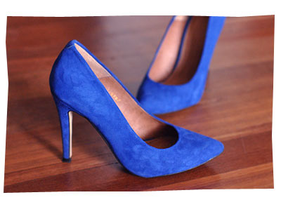 ASOS Blue Suede Shoes