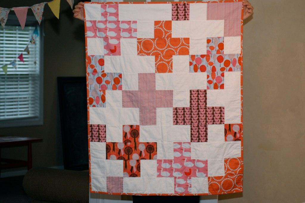 Brynn's quilt for Adrienne