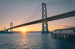 Bay View (Sebastian (sibbiblue)) Tags: 18105 bay baybridge california dri lrenfuse longexposure morning morningsky niksofware nikond7000 ocean sanfrancisco sunrise usa water