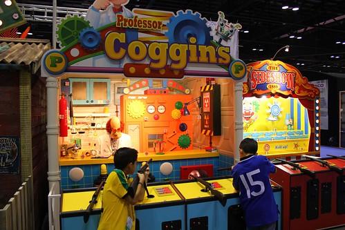 Professor Coggins shooting gallery