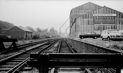 Fakenham East sidings 1973 (Blue Pelican) Tags: station norfolk railway ger fakenham sidings