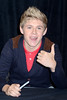 Niall Horan One Direction attend a signing for their new album 'Up All night' at Tesco Extra Maynooth in Kildare Kildare, Ireland