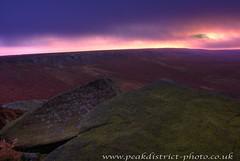 The Point of Sunrise (Dan Cook Archived (dan-scape.co.uk)) Tags: pink orange mountains sunrise landscape hiking derbyshire peakdistrict rockface hdr higgertor 20mmf28 tokina1116m