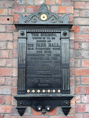 Photo of Black plaque number 8282