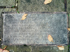 Photo of Stone plaque number 8283
