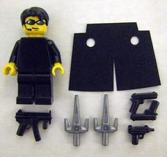 Brick Guy Customs: The One (Accessories) (The Brick Guy) Tags: code lego trenchcoat neo custom cyberpunk thematrix minifigure theone brickarms mmcb tinytactical legocontestnetwork brickguycustoms