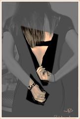 La petite robe noire by MFB/PHOTOCLIC... sans claque  (photoclicsansclaque) Tags: la robe femme dos petite noire robenoire fermetureclair dshabiller photoclicsansclaque