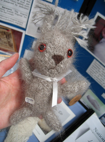 Knitted Angora bunny 1