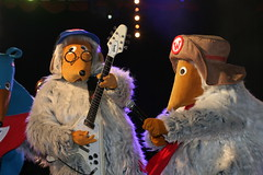 Glastonbury Festival 2011: The Wombles on the Avalon Stage