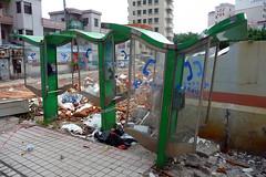Demolition site in Yuhe New Village Bao'an Shenzhen China (dcmaster) Tags: china new city urban demolish site village small chinese demolition guangdong shenzhen    renewal urbex baoan   yuhe