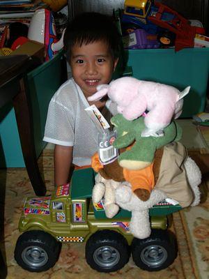 Julian stacking soft toys