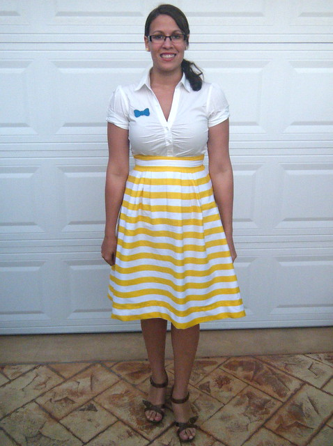 Stripe Sunshine Skirt