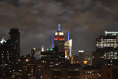 4th of July Empire State Building