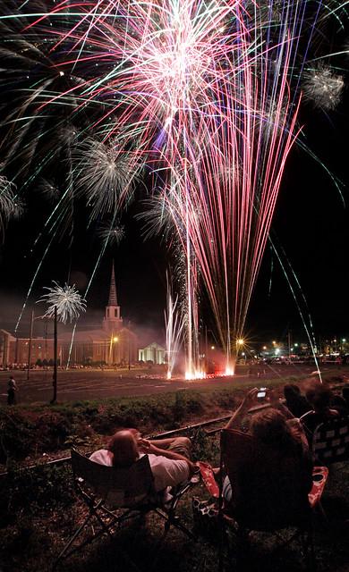 Cherryville  Fireworks